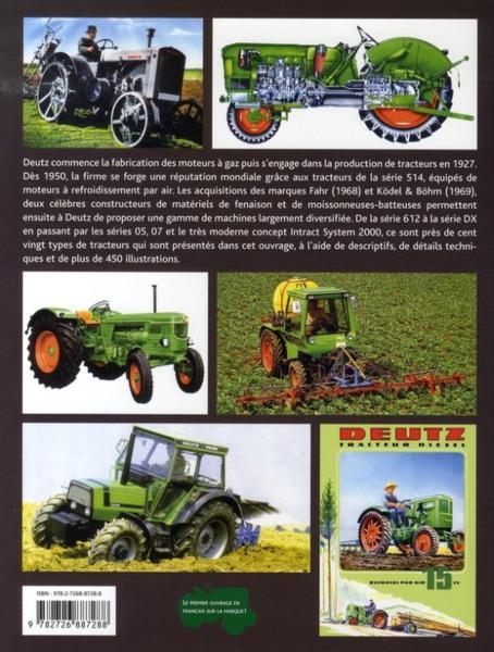 Tracteurs DEUTZ - 120 ans d'histoire